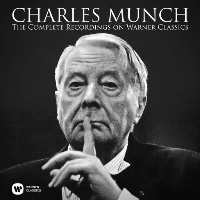 Pochette du coffret « The Complete Recordings on Warner Classics » consacré à Charles Munch.