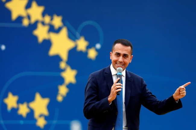 Le vice-président du conseil Luigi Di Maio, le 21 octobre à Rome.