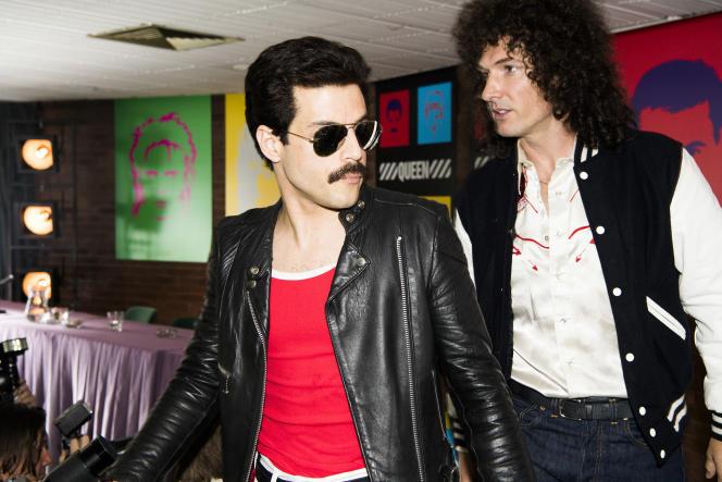 Rami Malek (à gauche) et Gwilym Lee dans «Bohemian Rhapsody», de Bryan Singer.