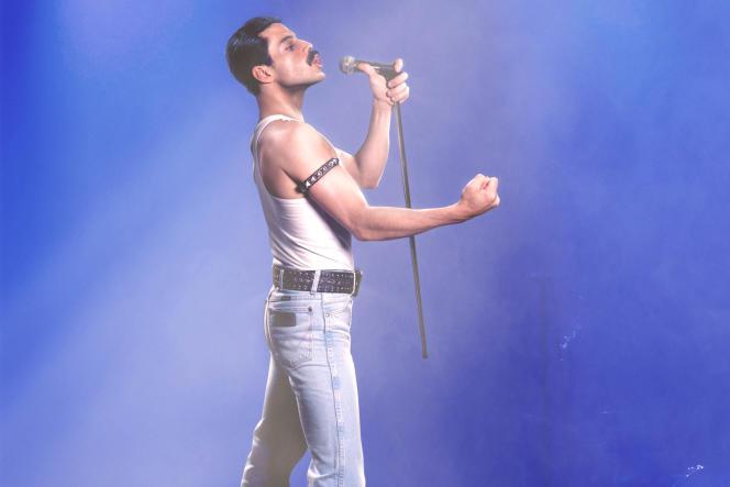 Rami Malek (Freddie Mercury) dans «Bohemian Rhapsody», de Bryan Singer.
