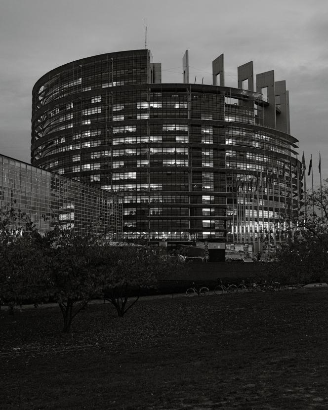 Le Parlement européen à Strasbourg, le 23octobre.