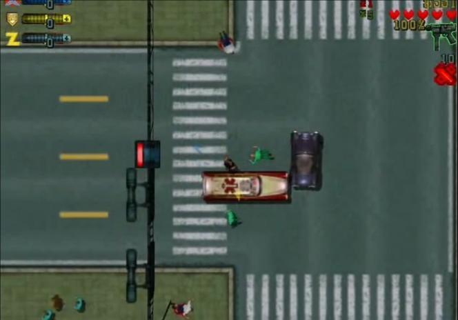 A ses débuts,« GTA» était une sorte de «Micro Machines» sans foi ni loi.
