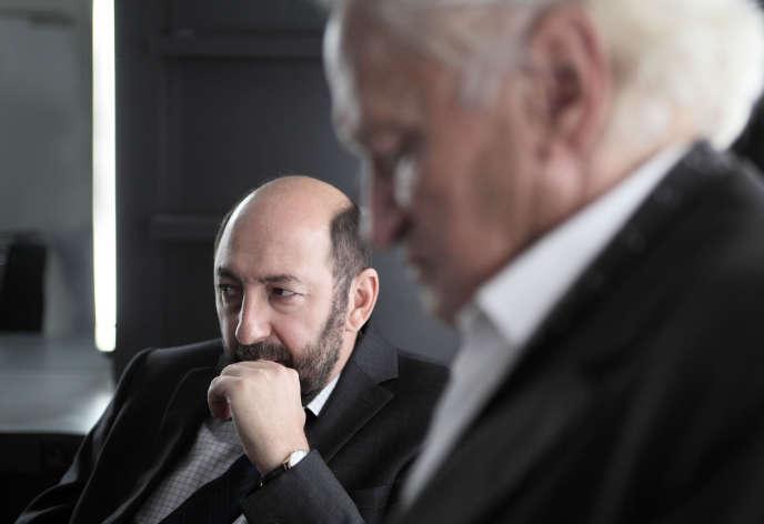 Kad Merad (Philippe Rickwaert) et Niels Arestrup (Francis Laugier), dans la série«Baron noir», diffusée sur Canal+.