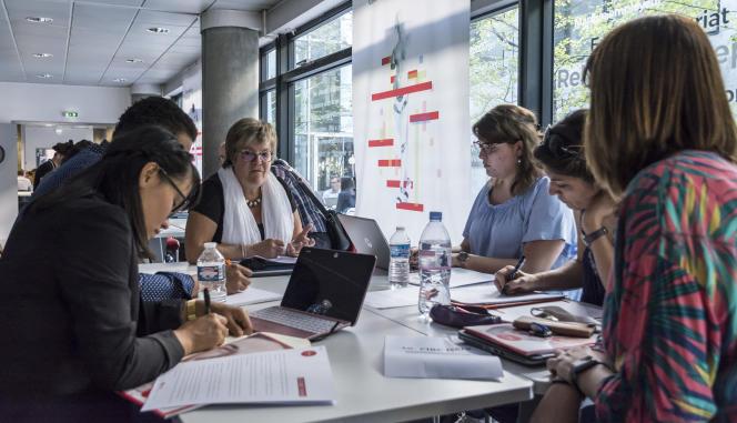 Etudiants à l'IAE Grenoble