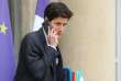 French Junior Minister Minister to the Minister of Territorial Cohesion and Relations with Territorial Communities, in charge of the City and Housing Julien Denormandie speaks on the phone as he leaves the Elysee Palace following the weekly cabinet meeting in Paris on October 30, 2018.  / AFP / LUDOVIC MARIN