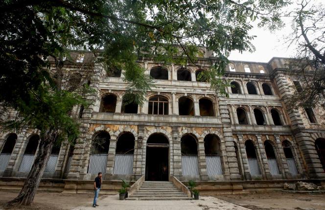 Vue extérieure du Grand Sofar Hôtel, prise le 21 septembre.