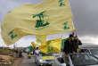 Des partisans du Hezbollah à Marjayoun, au Liban, le 7 mai.