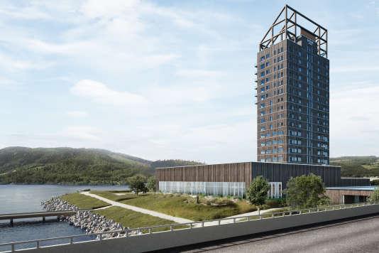 En Norvège, un gratte-ciel de bois en circuit court