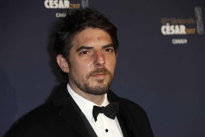 L'acteur Damien Bonnard lors de la 42e cérémonie des Césars à la salle Pleyel à Paris, en février 2017.