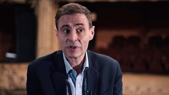Capture d'écran de Matthieu Aron, en 2018.