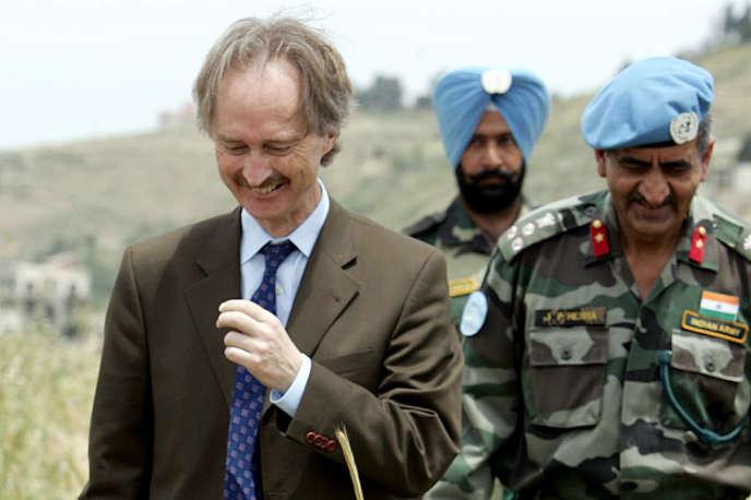 Geir Pedersen, alors représentant de l'ONU au Liban, le 10mai 2007.