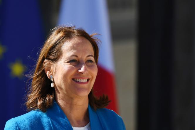 Ségolène Royal à l'Elysée, le 12 avril 2017.