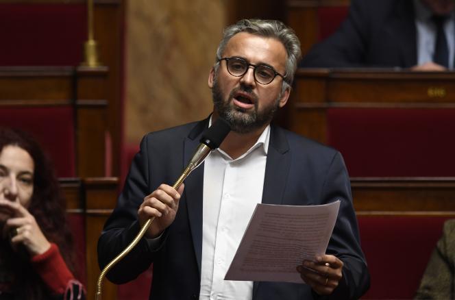 Le député Alexis Corbière, le 17 octobre, à l'Assemblée nationale à Paris.