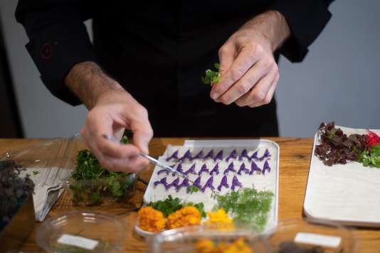 Alexandre Razzia uses more than 200 spices in his kitchen.