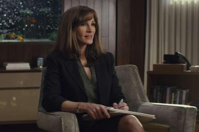 Julia Roberts dans« Homecoming»,série créée par Eli Horowitz et Micah Bloomberg.