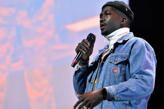Le chanteur Jacob Banks en concert à New York, le 23 octobre 2018.