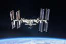 L'ISS photographiée, le 4 octobre 2018.
