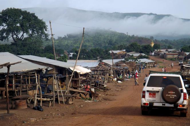 La région du mont Simandou, dans le sud-est de la Guinée, recèle l'un des plus grands gisements de minerai de fer au monde.