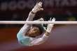 Simone Biles lors de la finale du concours complet féminin, à Doha, le 1er novembre.