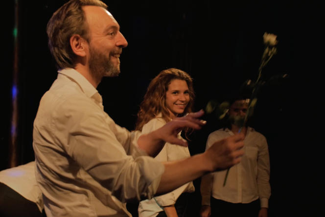 Eric Chantelauze et Marie Hennerez, dans «Smoke Rings».