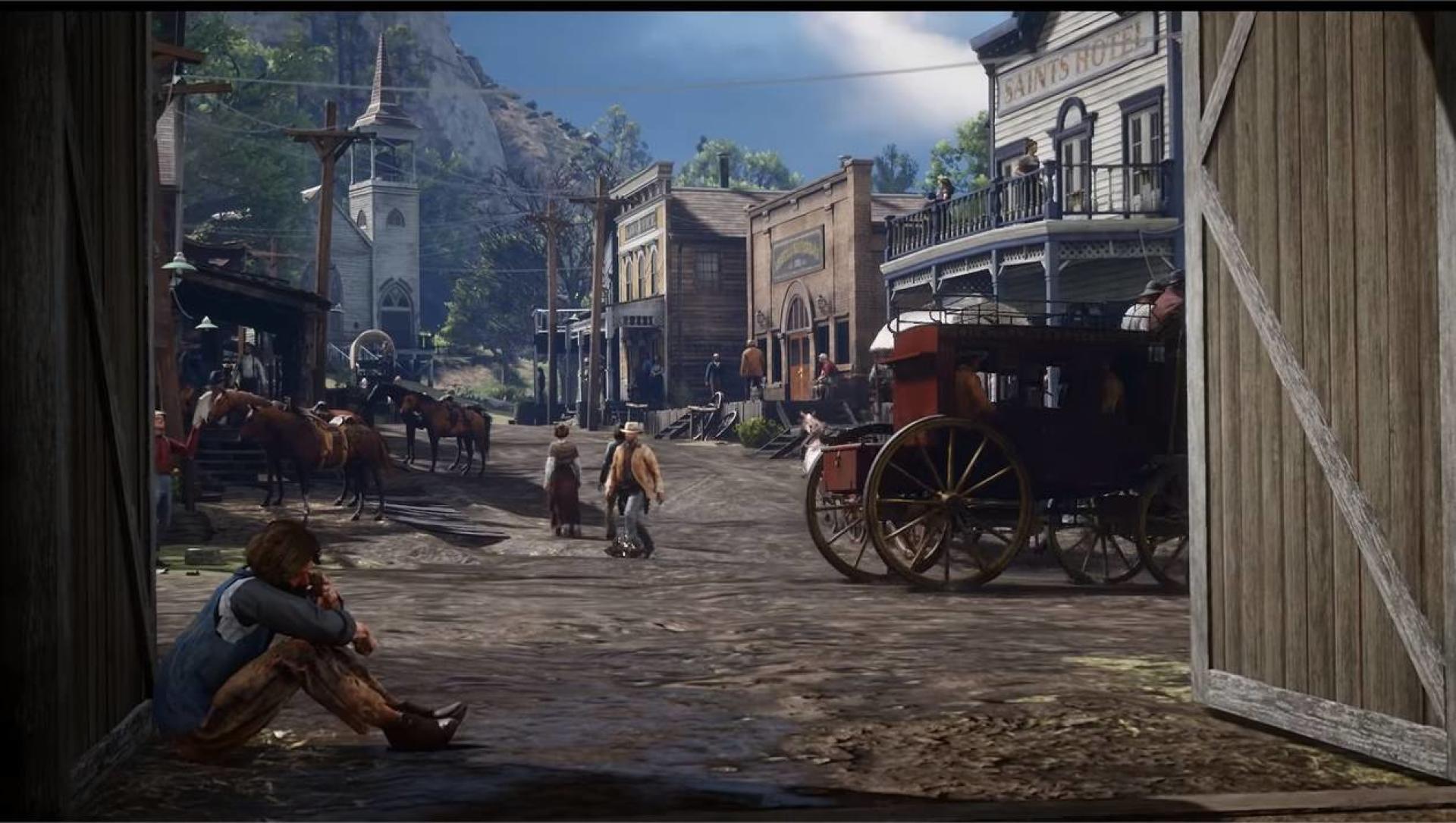 Loin du cliché du cow-boy solitaire,« RDR2» est un jeu sur les liens d'un clan de hors-la-loi.