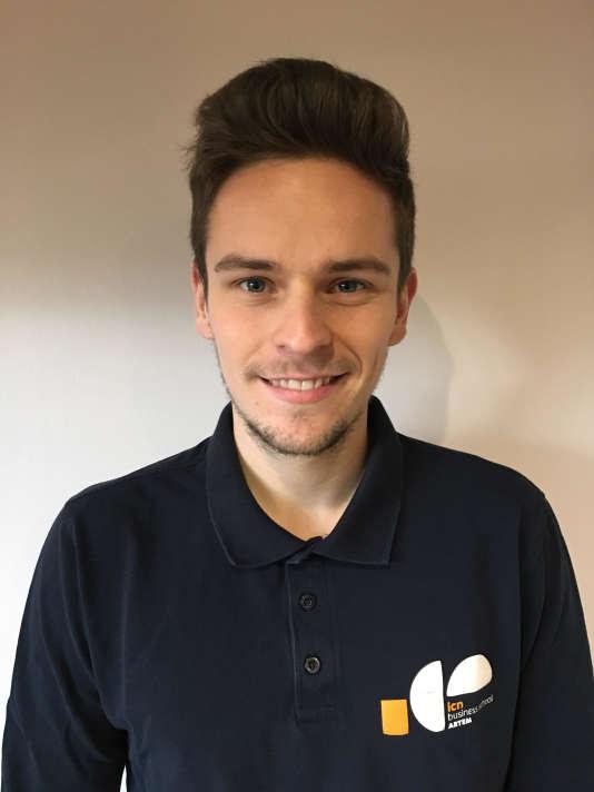 Maxime Oury, 21 ans, étudiant à ICN Artem Business School
