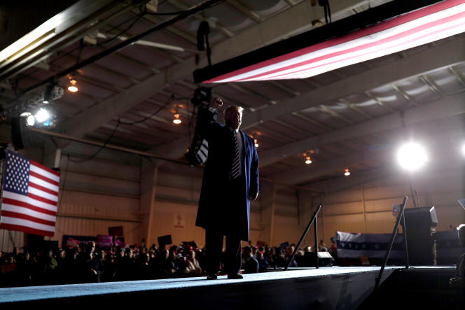 Donald Trump à Columbia (Missouri), le 1er novembre.