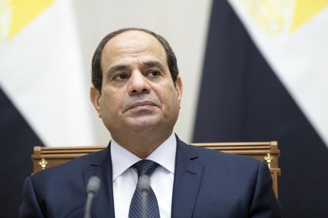 Le président égyptien, Abdel Fattah al-Sissi, à Sotchi, en Russie, le 17octobre 2018.