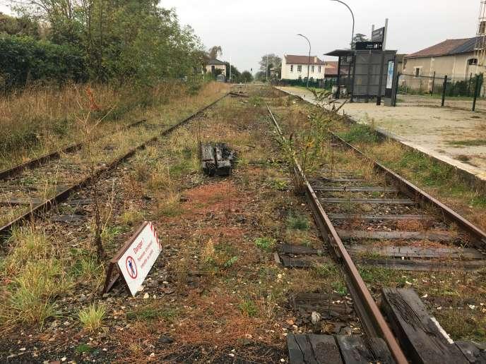 Les mauvaises herbes prolifèrent sur le tronçon entre Angoulême et Saillat-sur-Vienne.