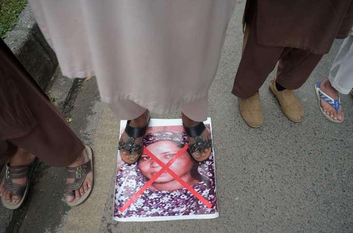 Manifestation contre l'acquittement d'Asia Bibi, à Islamabad, le 2 novembre.