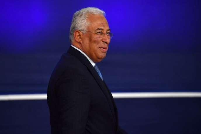 Le premier ministre portugais, Antonio Costa, à Bruxelles le 17 octobre.