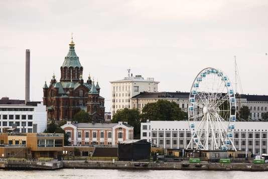 Vue générale d'Helsinki (Finlande).