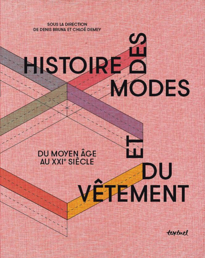 Couverture du livre«Histoire des modes et du vêtement», éd. Textuel