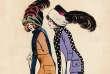«Les Entravées», dessin de 1910 signé Xavier Sager. Extrait du livre«Histoire des modes et du vêtement», éd. Textuel, novembre 2018.