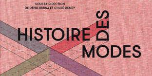 Couverture du livre«Histoire des modes et du vêtement», éd. Textuel.