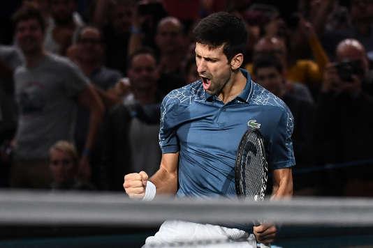 Novak Djokovic retrouvera lundi la première place du classement ATP, après le forfait de Rafael Nadal lors du Masters 1000 de Paris.