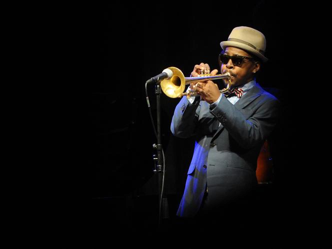 Roy Hargrove en concert au festival Jazz at Prague Castle ( République Tchèque), en mars 2012.