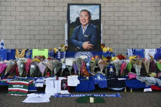 Les funérailles de Vichai Srivaddhanaprabha, propriétaire de Leicester, débuteront samedi 3 novembre à Bangkok.