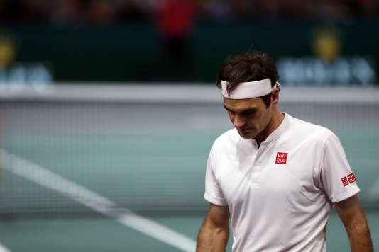 Le Suisse Roger Federer, à Paris, le 3 novembre.