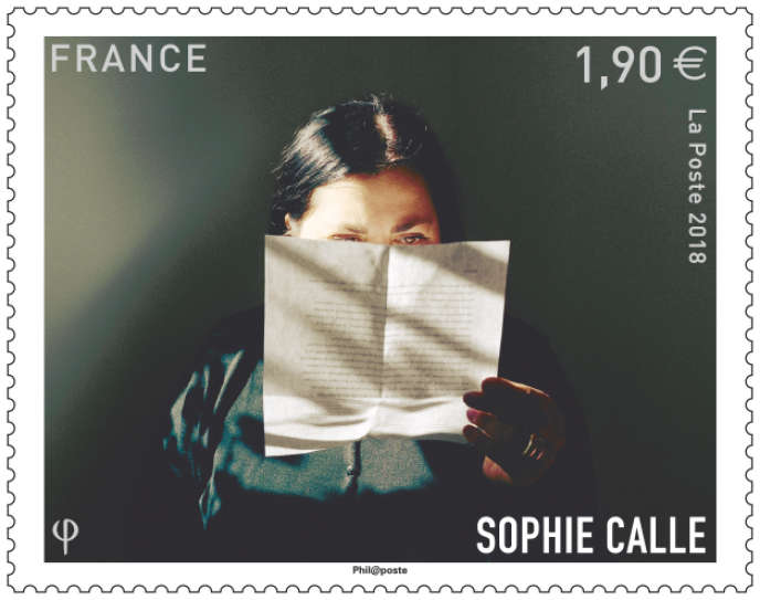 « La Correctrice», de Sophie Calle (« Prenez soin de vous»).