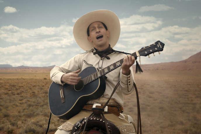 Tim Blake Nelson dans une scène du film «The Ballad of Buster Scruggs» qui sera lancé en salles une semaine avant sa disponibilité sur Netflix.