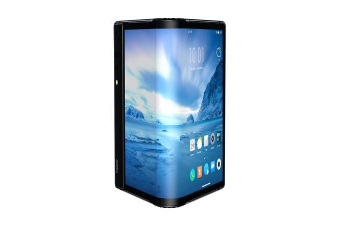 Le FlexPai passe en quelques secondes du smartphone à la tablette grâce à son écran pliable.