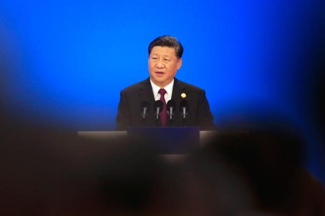 Xi Jinping, le président chinois, le 5 novembre, lors de la première«Exposition intenationale d'importation», à Shanghaï.