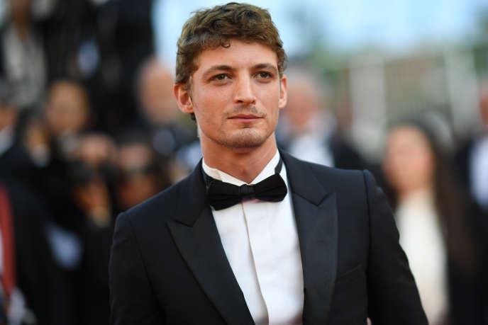 L'acteur Niels Schneider lors du 71e Festival de Cannes, le 19 mai 2018.