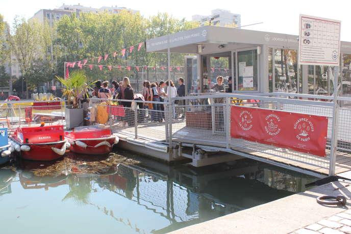 Balade sur le canal avec Marin d'eau douce.