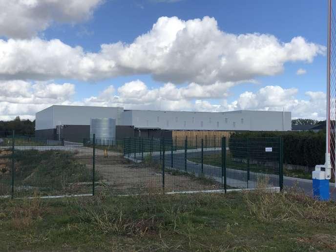 La nouvelleplate-forme de stockage de produits phytopharmaceutiques, dugroupe Cap Seine, à Vieux-Manoir (Seine-Maritime), le 1er octobre.