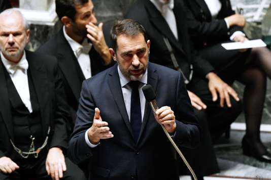 Minister of the Interior, Christophe Castaner, in the National Assembly, November 6th.