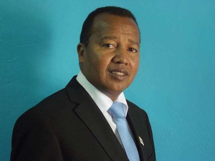 Le pasteurAndré Christian Dieudonné Mailhol, candidat à l'élection présidentielle malgache.