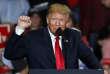Discours de campagne des élections de mi-mandat du président Donald Trump, le 5novembre; à Cape Girardeau, dans le Missouri.