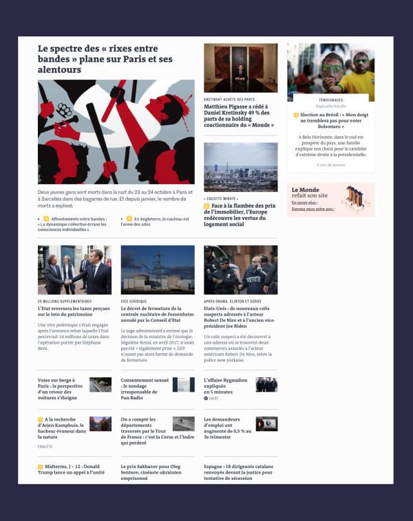 Nouveau site du Monde : mode d'emploi